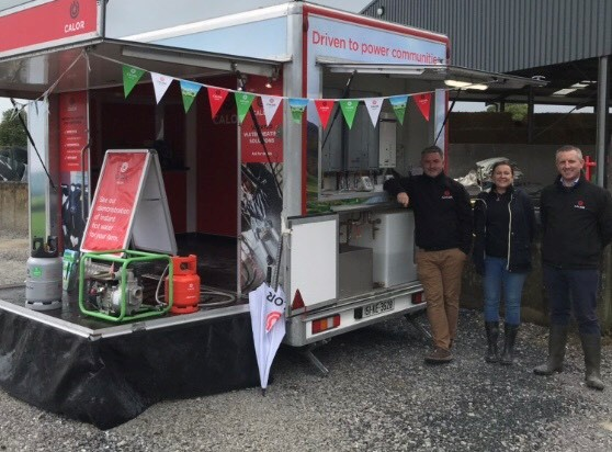 Calor Trailer and staff at the Energy in Agriculture Event