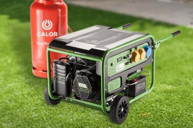 gas powered generators